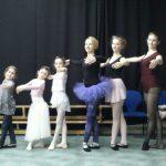 Výuka baletu na pedagogické škole Litomyšl