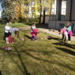 Výuka na zahradě